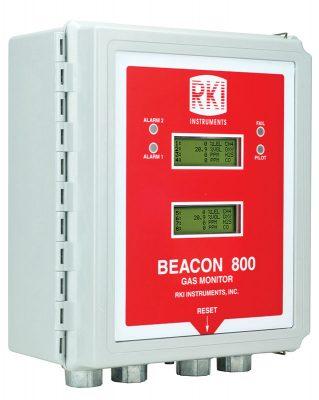 Beacon 800 Gas Detection Control Panel