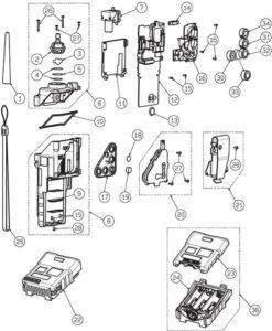 GX-2012 Spare Parts