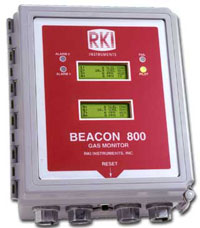 2001 RKI developed the Beacon 100 and 800 controllers