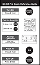 GX-3R quick reference card