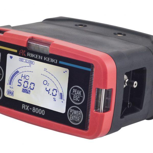 RX-8000 Marine Gas Monitor side view