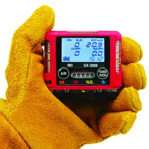 2009 The smallest confined space 4 gas monitor, GX-2009