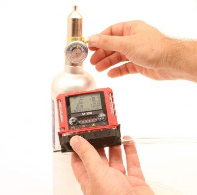 GX-2009 MSHA gas monitor calibration