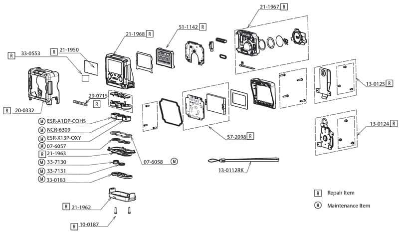 GX-3R Parts