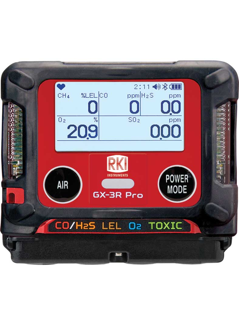 GX-3R Pro Gas Detector with Bluetooth Wireless Communication