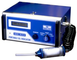 1983 Riken introduces portable IR unit for CO2 monitoring, RI-411