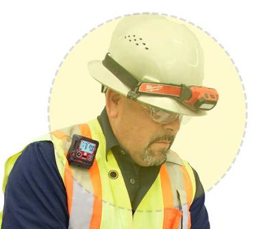 Contact RKI Confined Space Gas Monitor