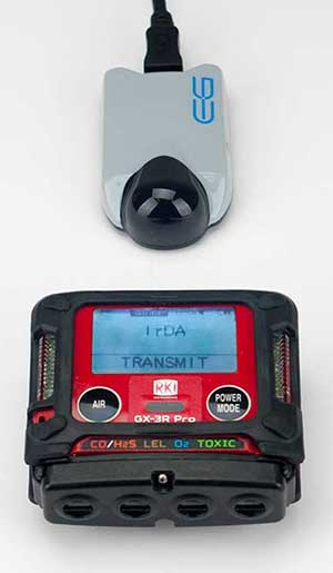 IrDA connection GX-3R Pro