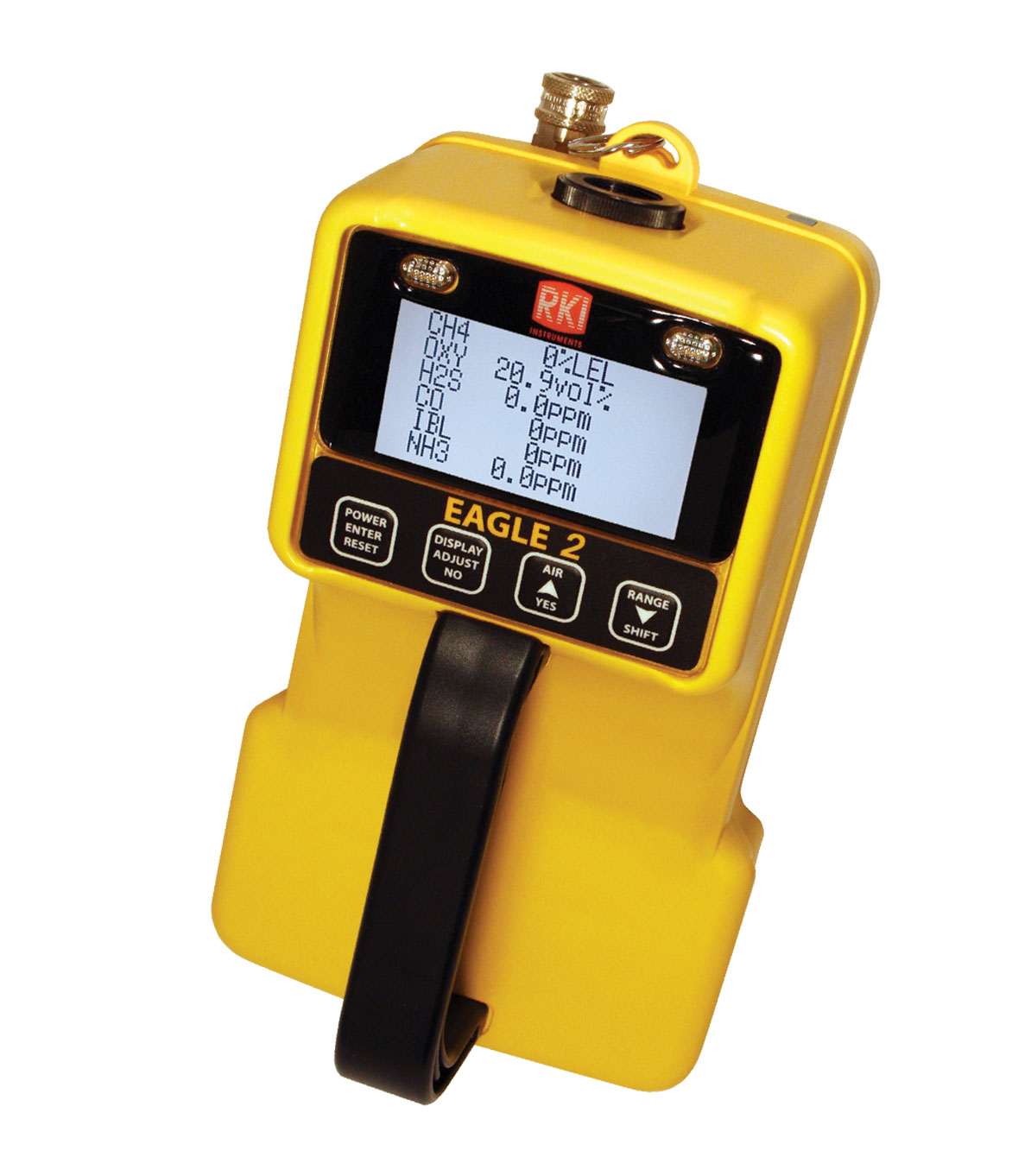 Portable Gas Detector : Gas monitor eagle with pid sample draw