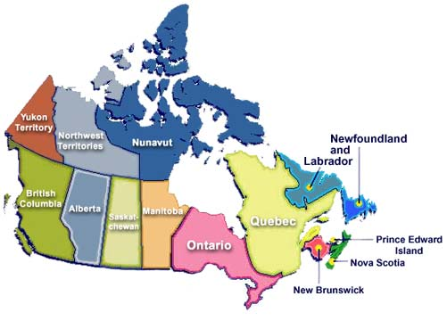 map of canada and us. map of canada and us. Canada