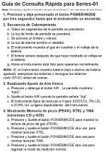 01-Series Spanish Quick Reference Card