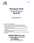 GD-70D Pyrolyzer Manual