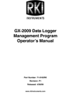 GX-2009 Datalogging Manual